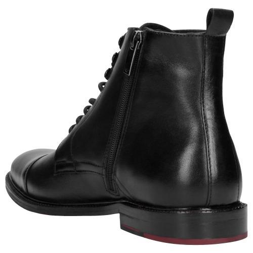 Czarne trzewiki męskie 9171-51