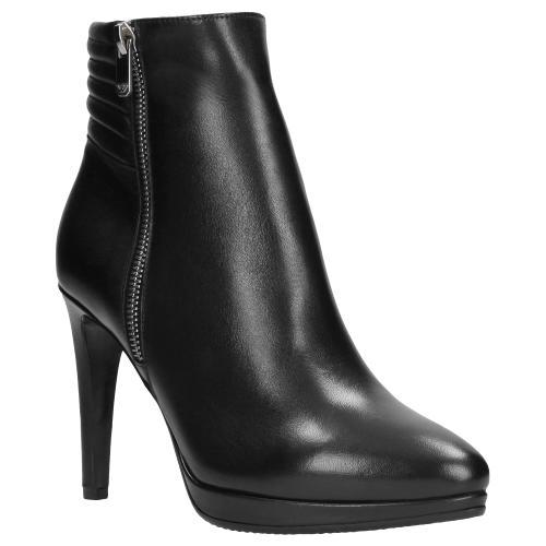 Czarne botki damskie 9594-51