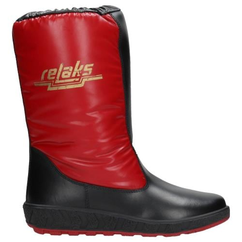 Czerwone damskie zimowe RELAKS 4680-86