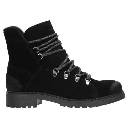 Czarne botki damskie 9626-61