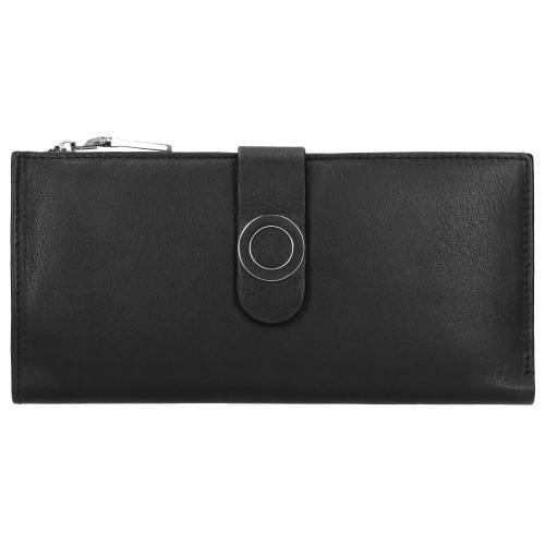 Czarny portfel damski 9952-51
