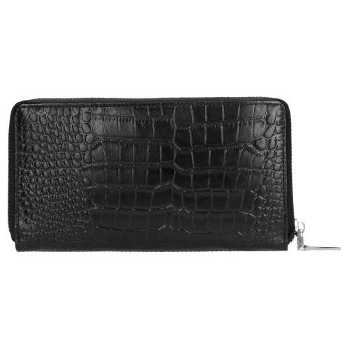 Czarny portfel damski 9953-51