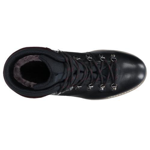 Czarne trzewiki męskie 9180-81