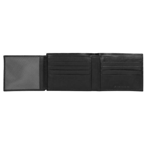 Czarny portfel męski 9948-51
