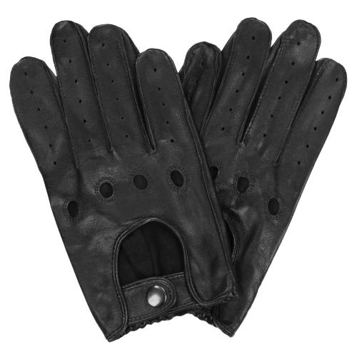 Czarne rękawiczki męskie 9991-51