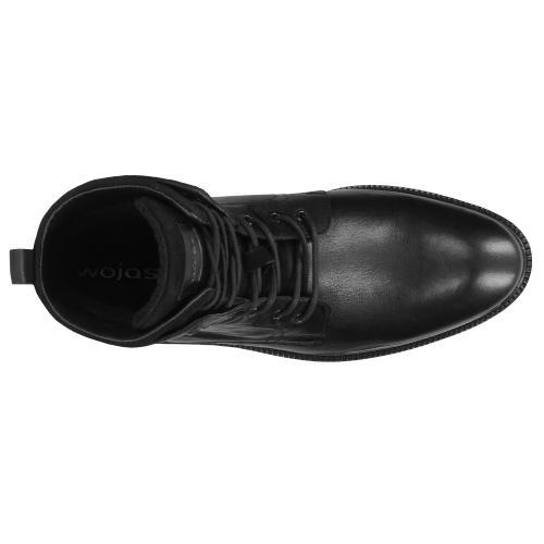 Czarne trzewiki męski 9174-71