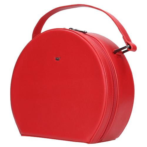 Czerwona torebka damska 9806-55