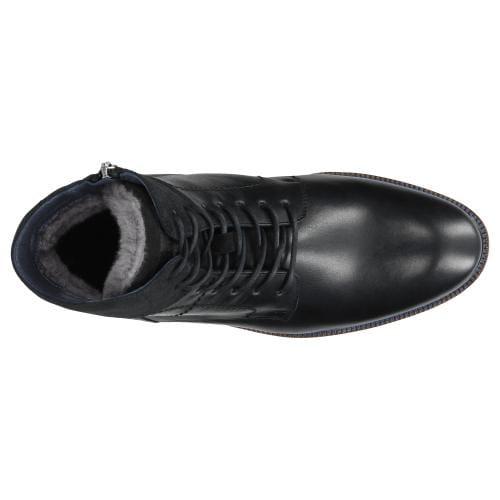 Czarne trzewiki męskie 9173-71