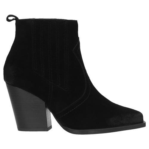 Czarne botki damskie 55016-61