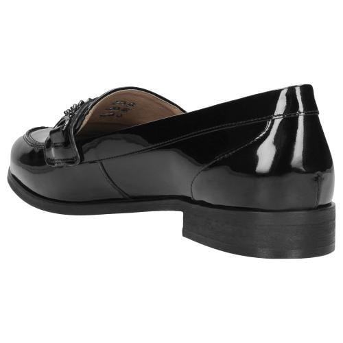 Czarne półbuty damskie 46012-31