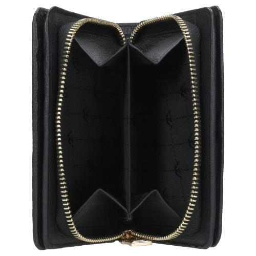Podłużny czarny portfel damski ze skóry licowej 91002-51