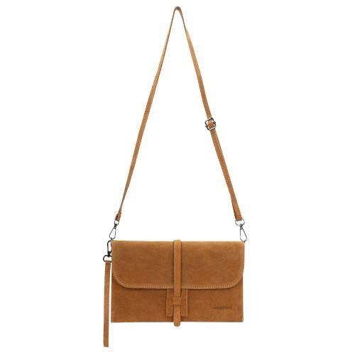 Mała jasnobrązowa torebka damska 80051-63