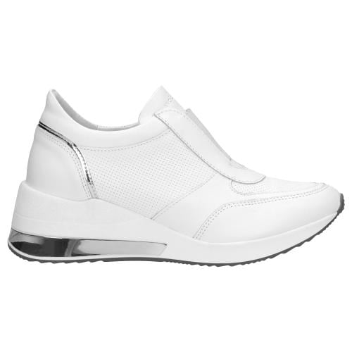 Białe sportowe półbuty damskie 46027-59