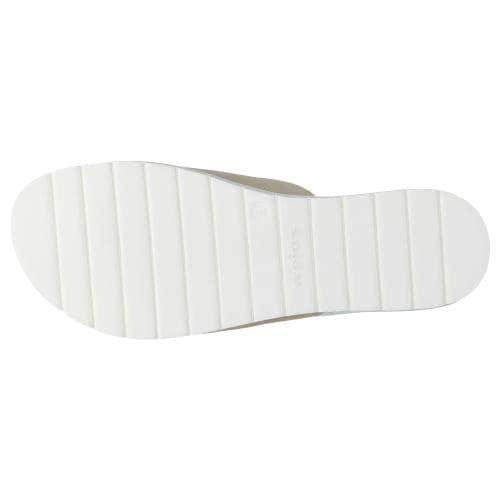 Beżowe klapki damskie 74016-64