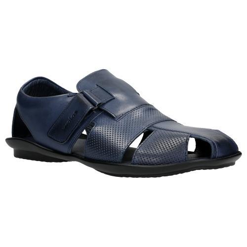 Granatowe sandały męskie z linii comfort 29000-56
