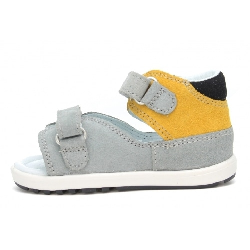Mini first steps BARTEK W-71266/J12, dla chłopców, szaro-żółty W-71266/J12