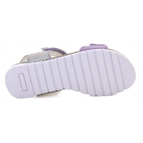 Sandały BARTEK W-76183/75C, dla dziewcząt, szaro-fioletowy W-76183/75C
