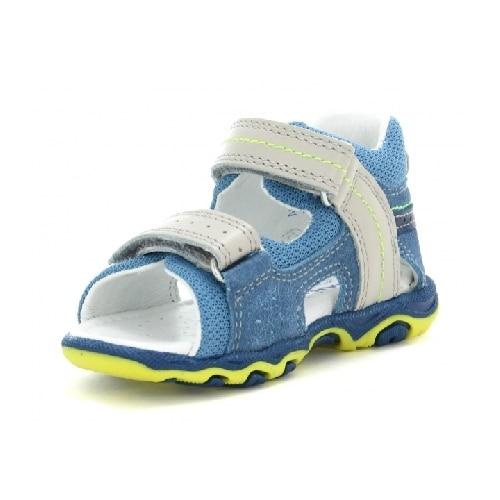 Sandały BARTEK W-11848-5/89Q, dla chłopców, niebiesko-szary W-11848-5/89Q