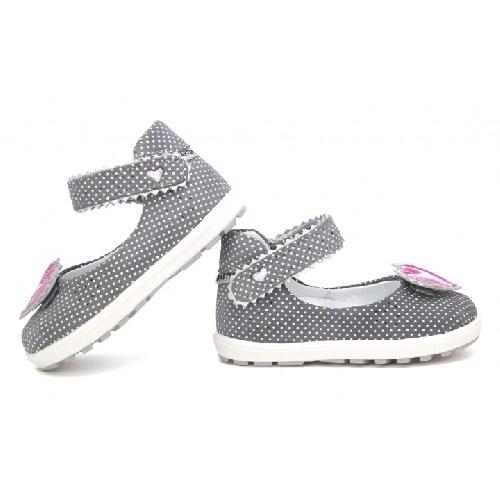 Mini first steps BARTEK W-71195/1UA, dla dziewcząt, szary W-71195/1UA