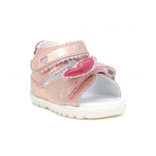 Sandały BARTEK W-71181/NRG, dla dziewcząt, różowo-złoty W-71181/NRG