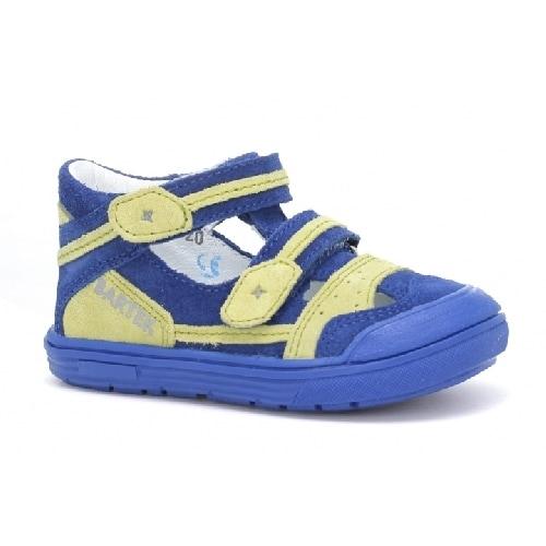 Sandały zabudowane BARTEK T-81885-7/SDC, dla chłopców, niebieski T-81885-7/SDC