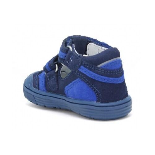 Sandały zabudowane BARTEK T-81885-7/ALM, dla chłopców, granatowy T-81885-7/ALM