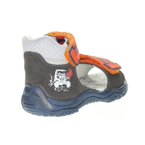 Sandały BARTEK T-61568/76G II, dla chłopców, brązowo-pomarańczowy T-61568/76G II