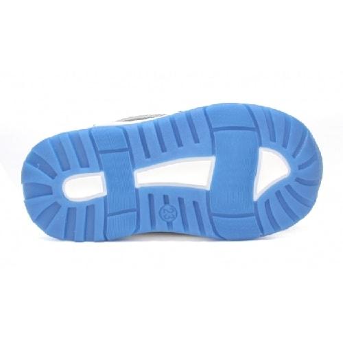 Półbuty BARTEK W-71131/SDO, dla chłopców, niebiesko-szary W-71131/SDO