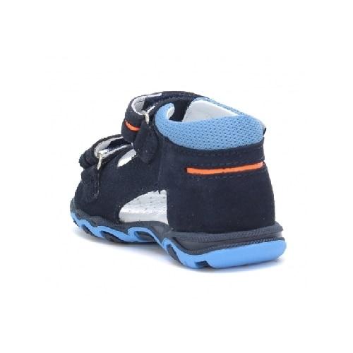 Sandały BARTEK W-71825/W28, dla chłopców, ocean W-71825/W28