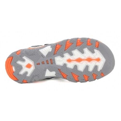 Sandały BARTEK T-16176-7/GR9, pomarańczowo-szary T-16176-7/GR9