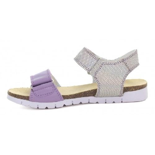 Sandały BARTEK W-79183/75C, dla dziewcząt, szaro-fioletowy W-79183/75C