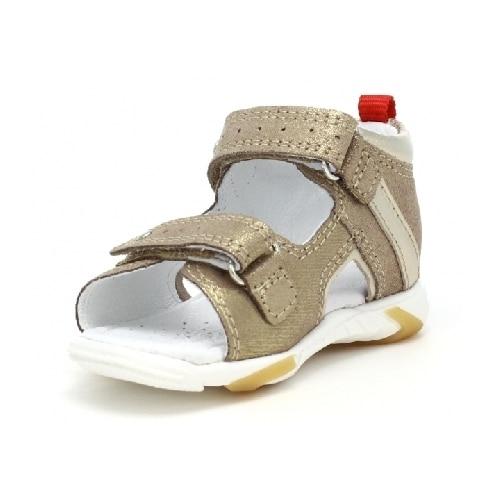 Sandały BARTEK T-71188/1R1, dla dziewcząt, beżowo-złoty T-71188/1R1