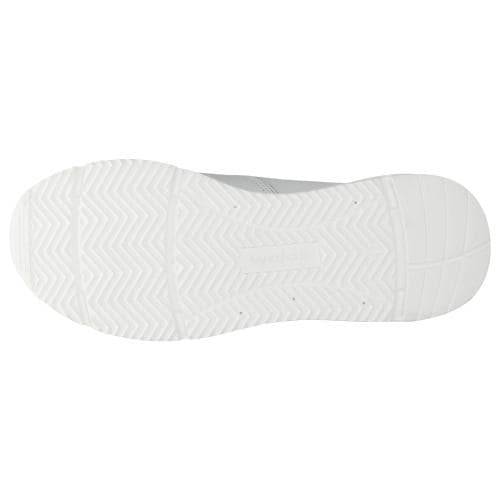 Białe sportowe półbuty męskie ze skóry naturalnej 46042-59