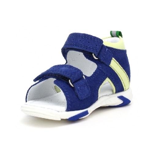 Sandały BARTEK T-71188/0RR, dla chłopców, niebiesko-żółty T-71188/0RR
