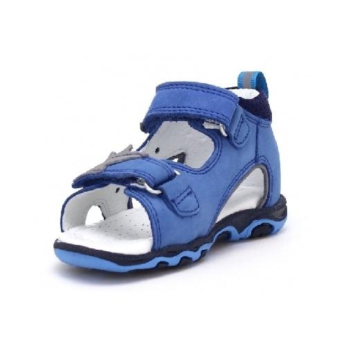 Sandały BARTEK T-71489/1EM, dla chłopców, niebiesko-szary T-71489/1EM