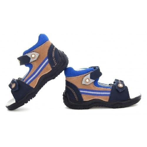 Sandały BARTEK T-31709/NIA, dla chłopców, niebiesko-brązowy T-31709/NIA