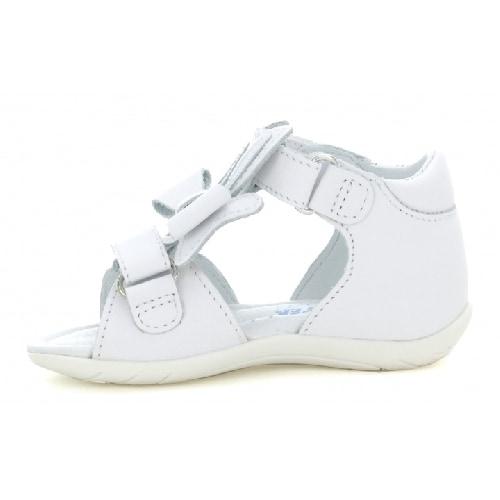 Sandały BARTEK W-51064/NPW, dla dziewcząt, biały W-51064/NPW