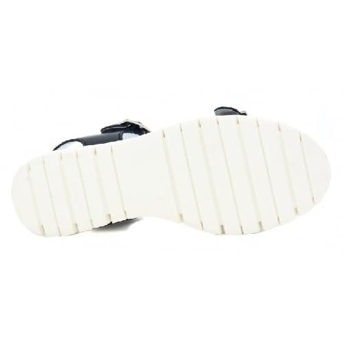Sandały BARTEK W-39164/0P4, dla dziewcząt, granatowo-biały W-39164/0P4