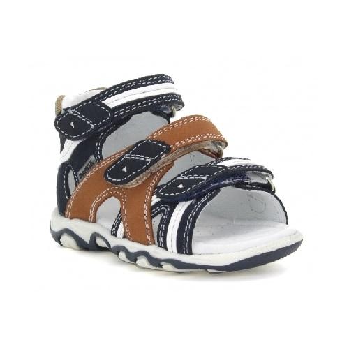 Sandały BARTEK T-011708-5/270 II, dla chłopców, granatowo-brązowy T-011708-5/270 II