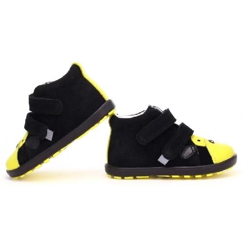 Mini first steps BARTEK W-71734/66SS, czarno-żółty 71734-66SS