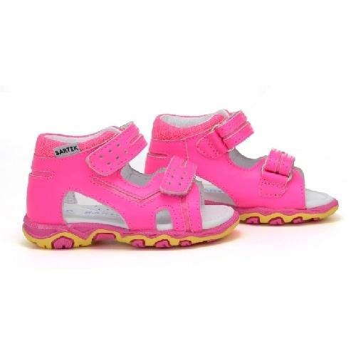 Sandały BARTEK W-71825/NPF, dla dziewcząt, różowy W-71825/NPF