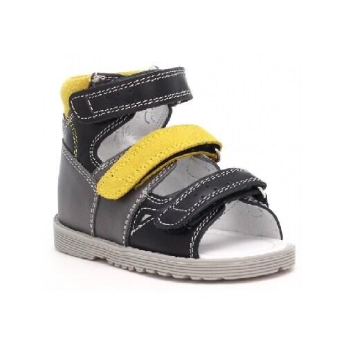 Profilaktyczne BARTEK T-86804-0/66E, dla chłopców, szaro-czarno-żółty 86804/0-66E
