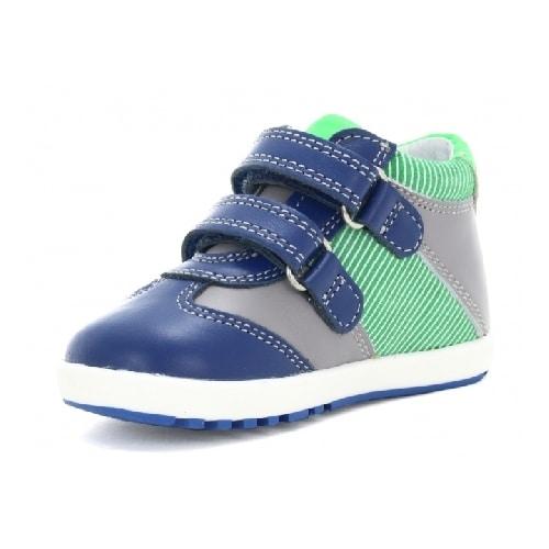 Mini first steps BARTEK W-011729-3/1P6 II, dla chłopców, szaro-niebieski W-011729-3/1P6 II