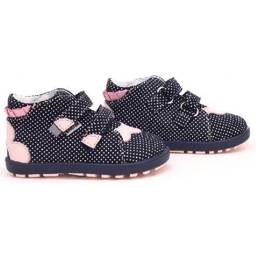 Mini first steps BARTEK W-71176-73KS, dla dziewcząt, czarno-różowy 71176-73KS