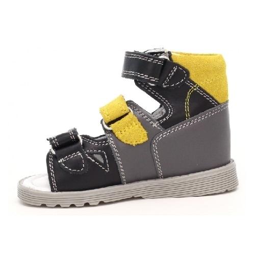 Profilaktyczne BARTEK T-81804-0/66E, dla chłopców, czarno-szaro-żółty 81804/0-66E