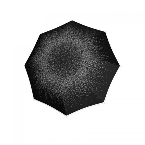 Czarny długi parasol damski DOPPLER  K001002-11