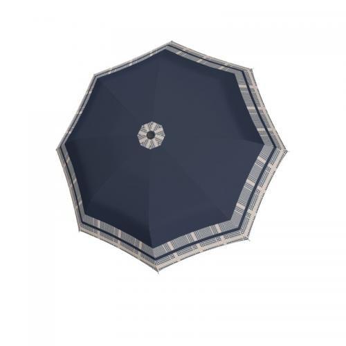Granatowy parasol damski DOPPLER ze wzorem K001003-16