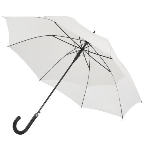 Długi parasol w kolorze białym 96701-10