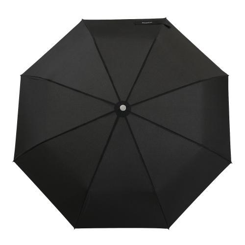 Lekki parasol składany w kolorze czarnym 96703-11