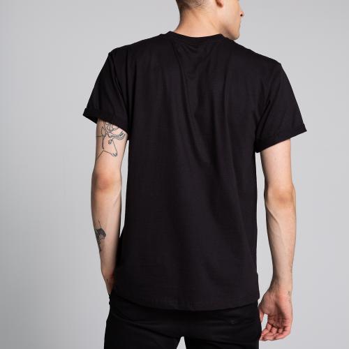 Czarna koszulka męska PILAWSKI K500001-81